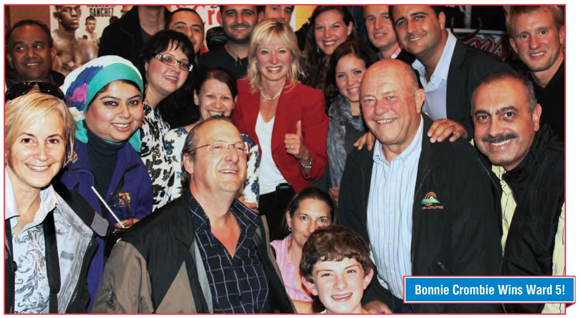 Bonnie Crombie Wins Ward 5!  Community, News, People, Politics | October 21, 2011 by misslife | Comments (0)